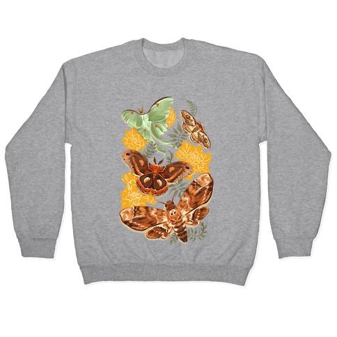 Moths & Marigolds Pullover