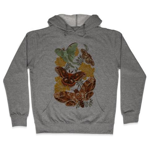 Moths & Marigolds Hooded Sweatshirt