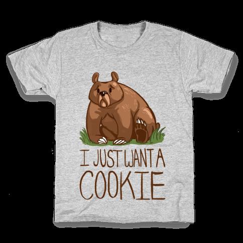 Cookie Bear Kids T-Shirt