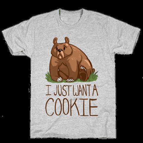 Cookie Bear Mens T-Shirt
