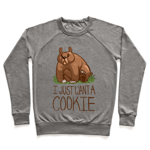 Cookie Bear Pullover