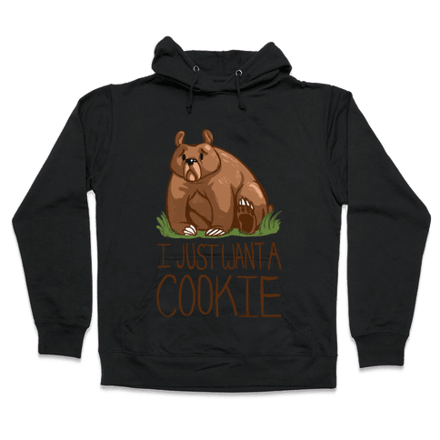 Cookie Bear Hooded Sweatshirt