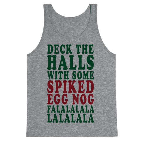 Deck The Halls (Party Tank) Tank Top