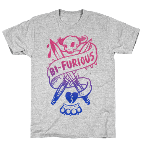 Bi-Furious Mens T-Shirt