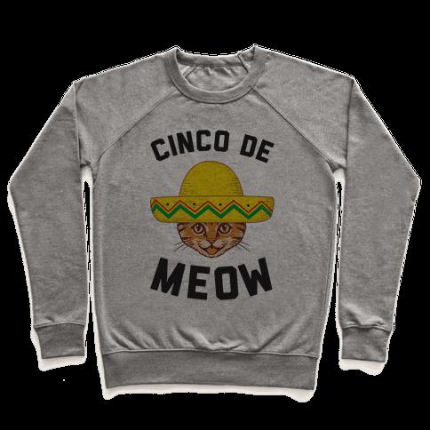 Cinco De Meow Pullover
