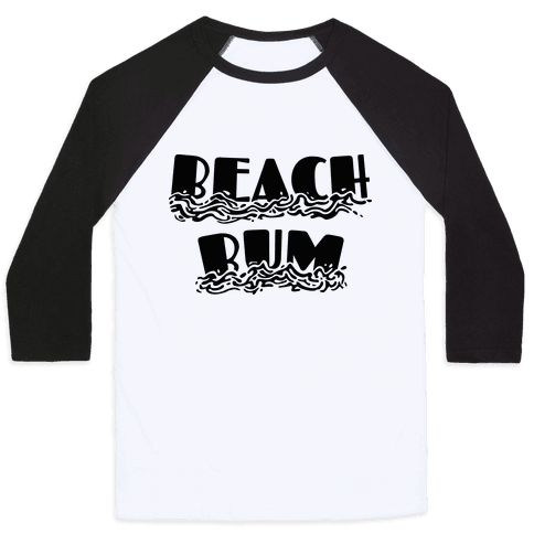 Beach Bum Baseball Tee