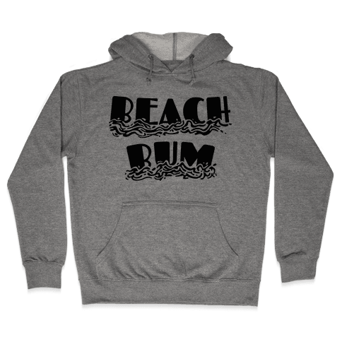 Beach Bum Hooded Sweatshirt