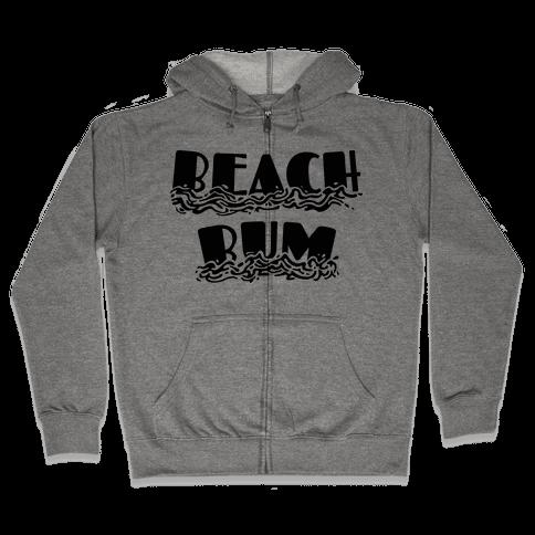 Beach Bum Zip Hoodie