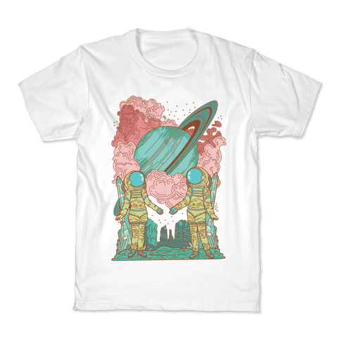 The Lovers in Space Kids T-Shirt