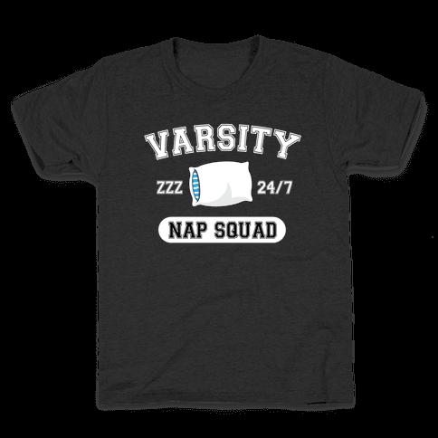 Varsity Nap Squad Kids T-Shirt