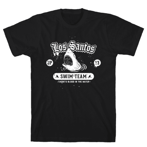 Los Santos Swim Team Mens T-Shirt
