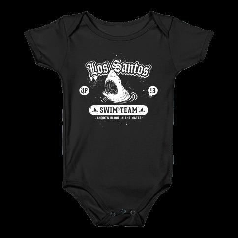 Los Santos Swim Team Baby Onesy