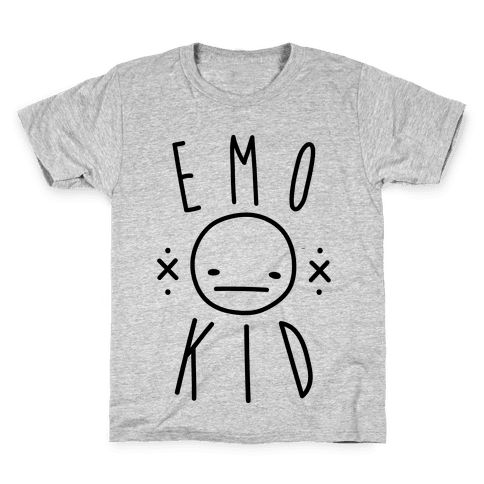 Emo Kid Kids T-Shirt