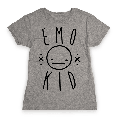 Emo Kid Womens T-Shirt