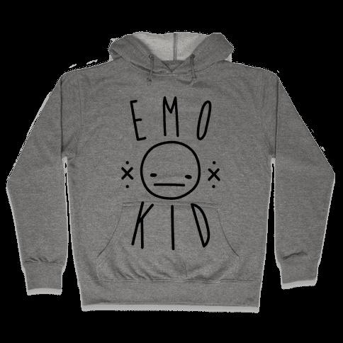 Emo Kid Hooded Sweatshirt