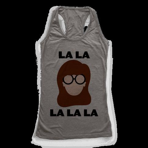 La La La (Daria) Racerback Tank Top