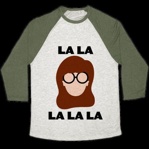 La La La (Daria) Baseball Tee
