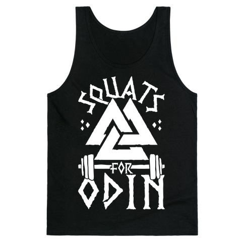 Squats For Odin Tank Top