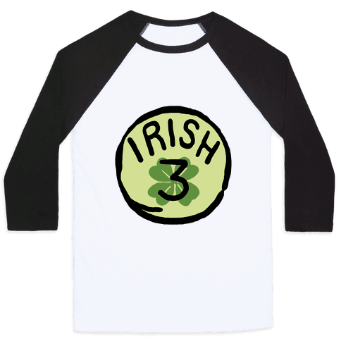 Irish 3 (St. Patricks Day) Baseball Tee