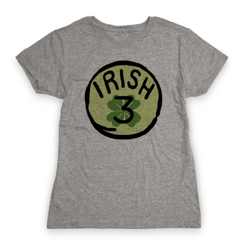 Irish 3 (St. Patricks Day) Womens T-Shirt