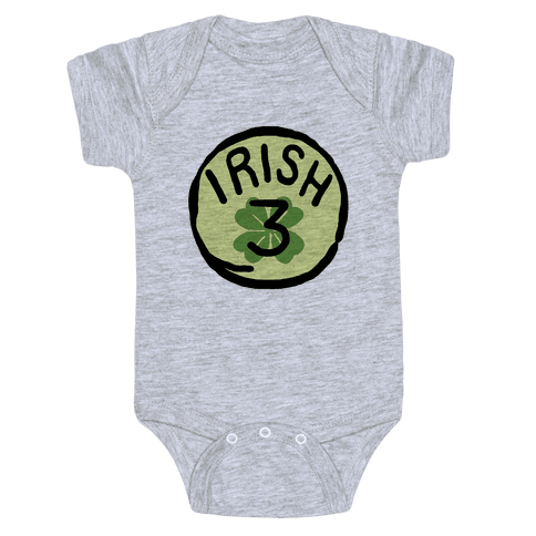 Irish 3 (St. Patricks Day) Baby Onesy