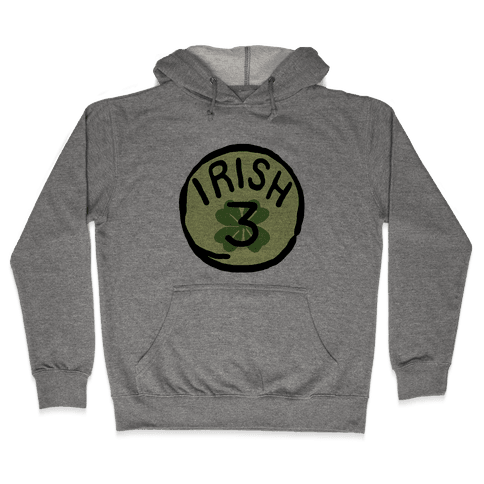 Irish 3 (St. Patricks Day) Hooded Sweatshirt