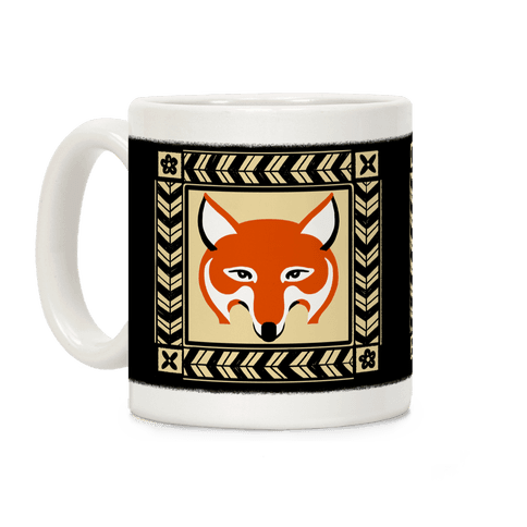 Curious Fox Coffee Mug