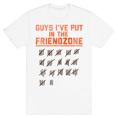 Guys I've Put in the Friend Zone Mens T-Shirt