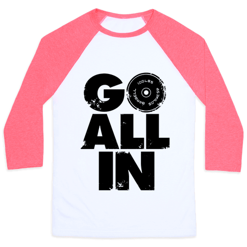 Go All In Baseball Tee