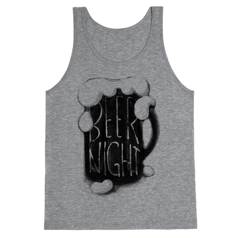 Beer Night Tank Top