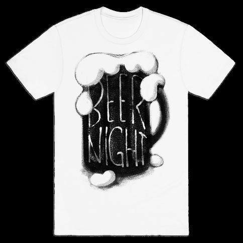 Beer Night Mens T-Shirt