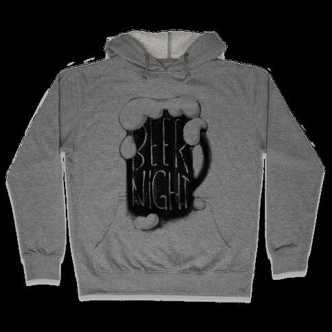 Beer Night Hooded Sweatshirt