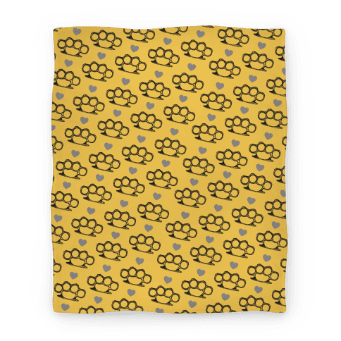 Brass Knuckle Blanket Blanket