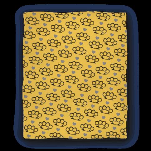 Brass Knuckle Blanket Blanket