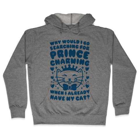Cat Prince Hooded Sweatshirt