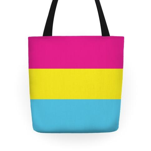 Pansexual Pride Flag Tote