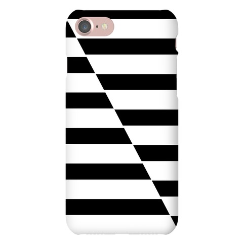 Cut Stripes Pattern Case Phone Case