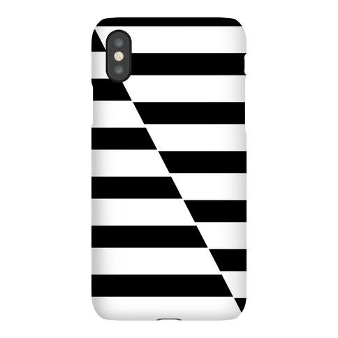 Cut Stripes Pattern Case Phone Case