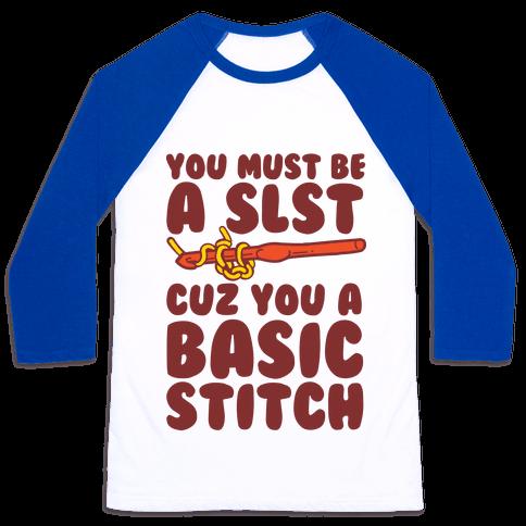 Basic Stitch Baseball Tee