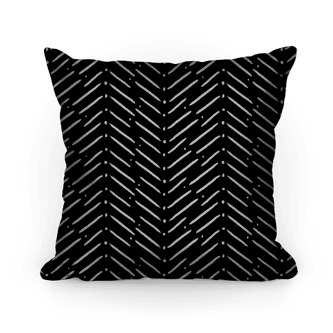 Black and White Tribal Doodle Pattern