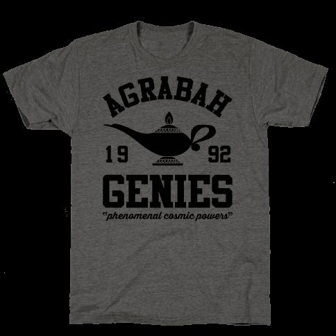Agrabah Genies Mens T-Shirt