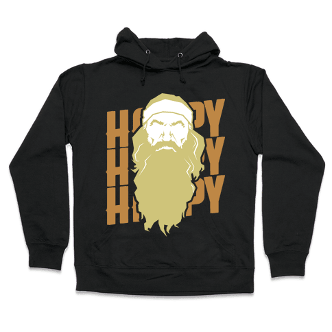 Happy Happy Happy  Hooded Sweatshirt