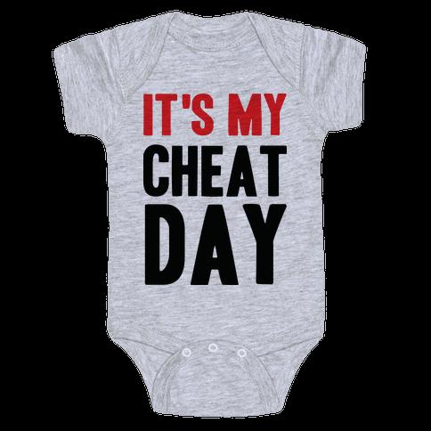 Cheat Day Baby Onesy