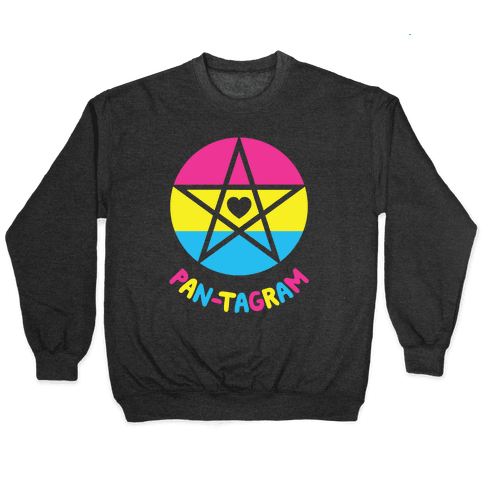 Pan-tagram (Pansexual Pentagram) Pullover