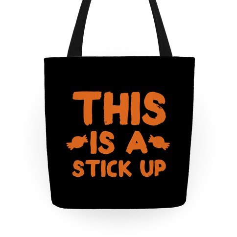 This is a Stick Up Tote
