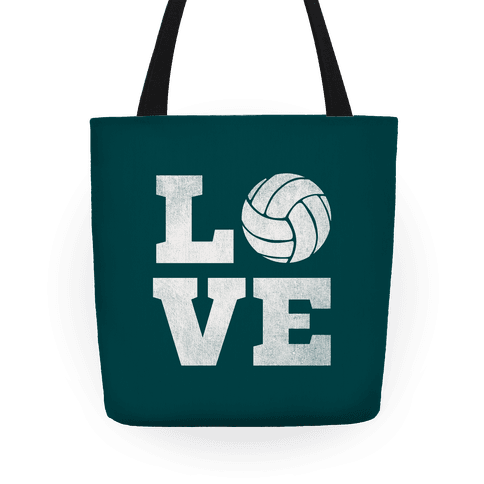 Love Volleyball Tote Tote