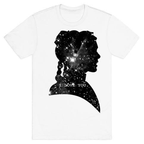 Leia Loves You T-Shirt