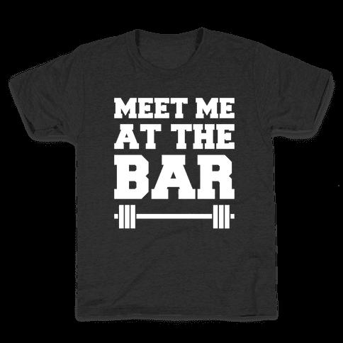 Meet Me At The Bar Kids T-Shirt
