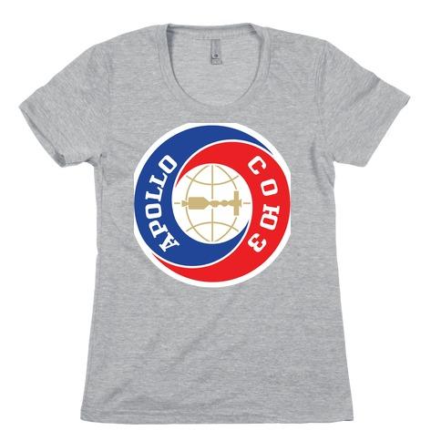 Apollo-Soyuz Program Womens T-Shirt