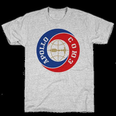 Apollo-Soyuz Program Mens T-Shirt